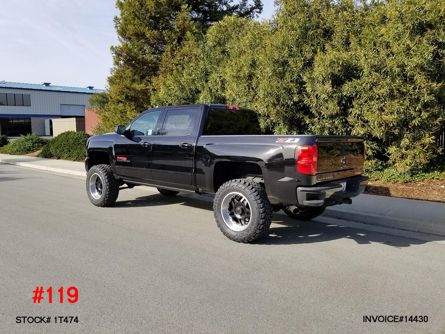 1T474-3 2018 CHEVY 1500 CREW CAB