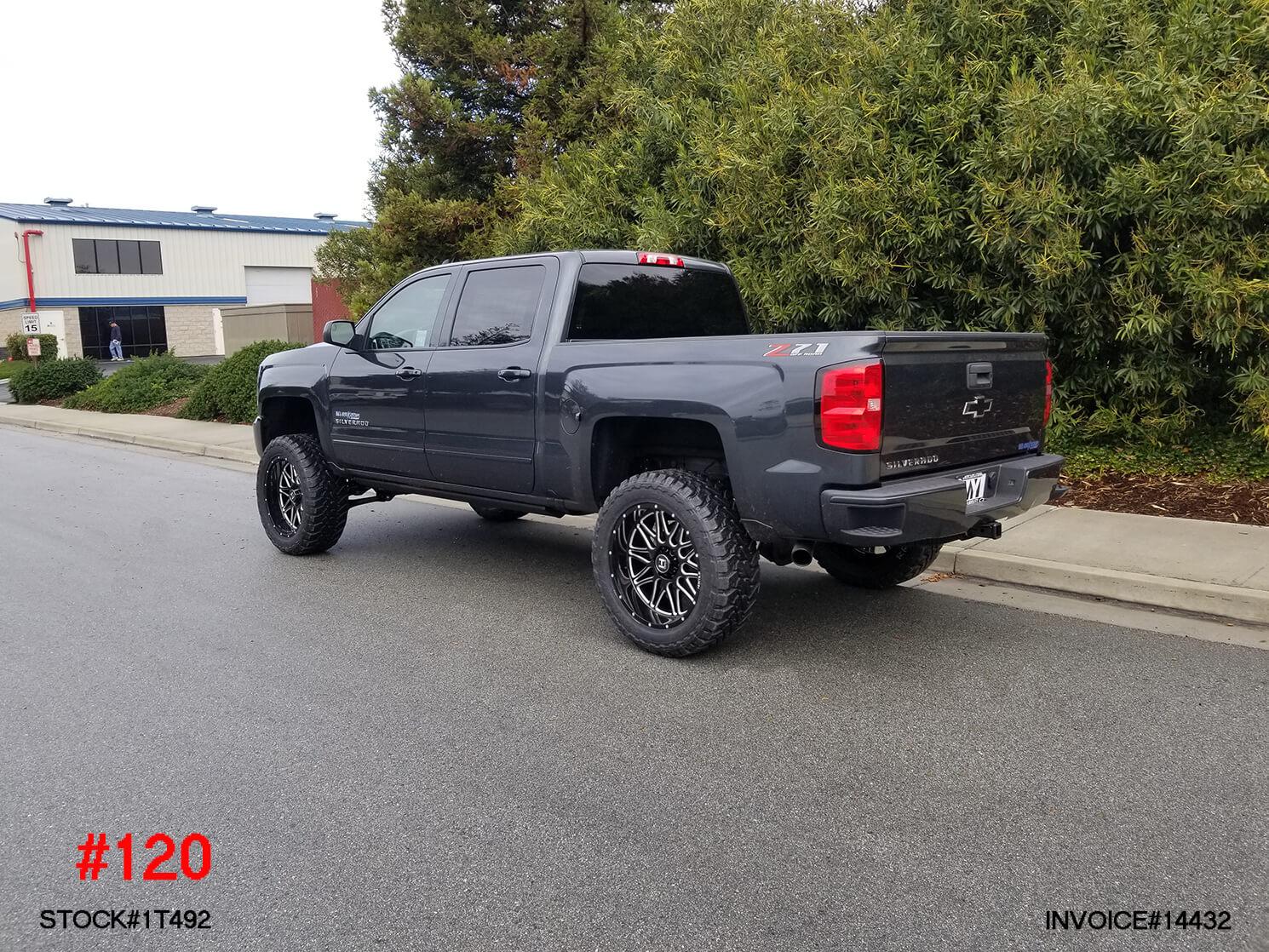 2018 CHEVY 1500 CREW CAB #1T492
