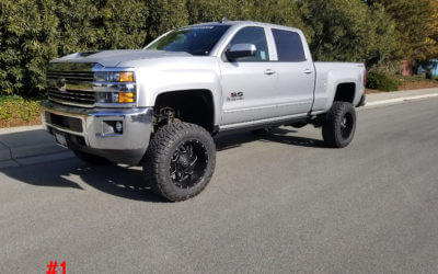 **SOLD**2018 CHEVY 2500 CREW CAB #20289