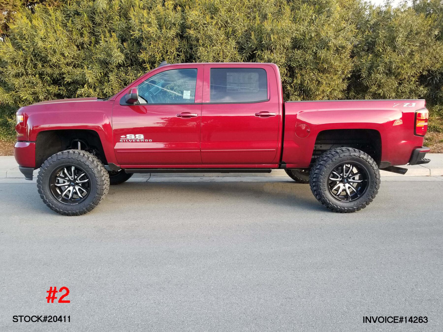 20411-2 CHEVY 1500 CREW CAB