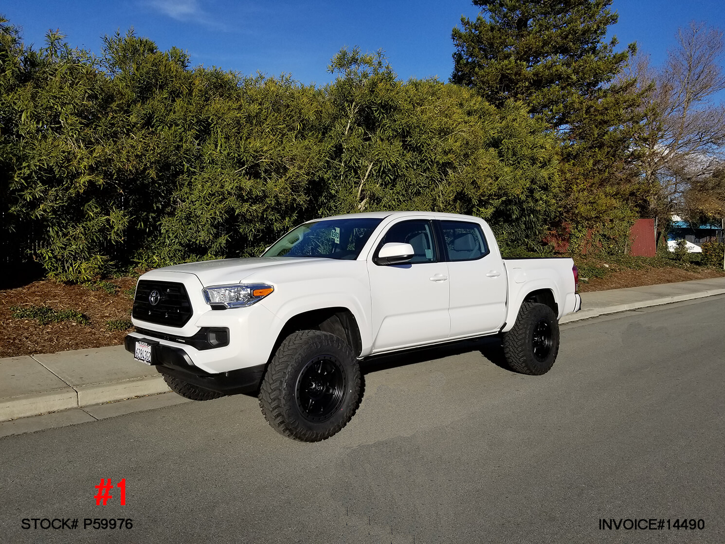 2017 TOYOTA TACOMA CREW CAB #P59976 | Truck and SUV Parts ...