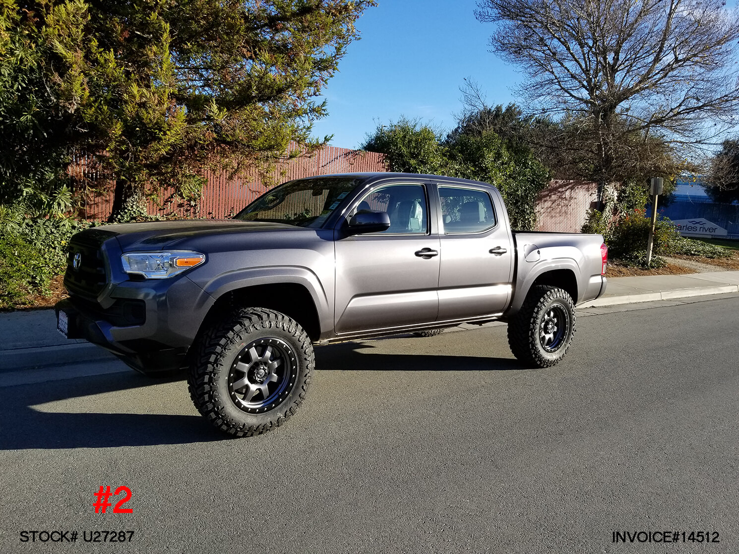 2017 TOYOTA TACOMA CREW CAB #U27287 | Truck and SUV Parts ...