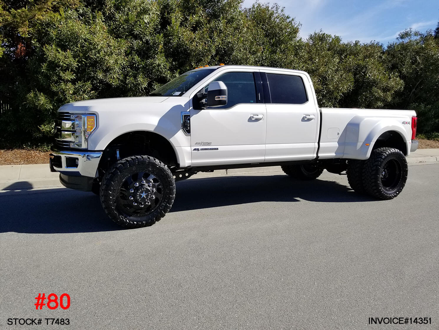 Lifted 2017 F350 Dually >> 2018 FORD F350 DUALLY #T7483 | Truck and SUV Parts Warehouse
