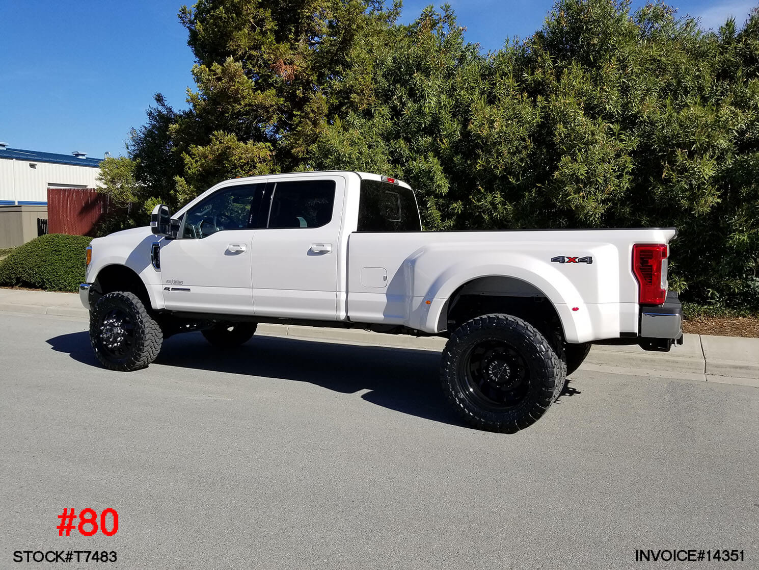 T7483 2018 Ford F350 Dually