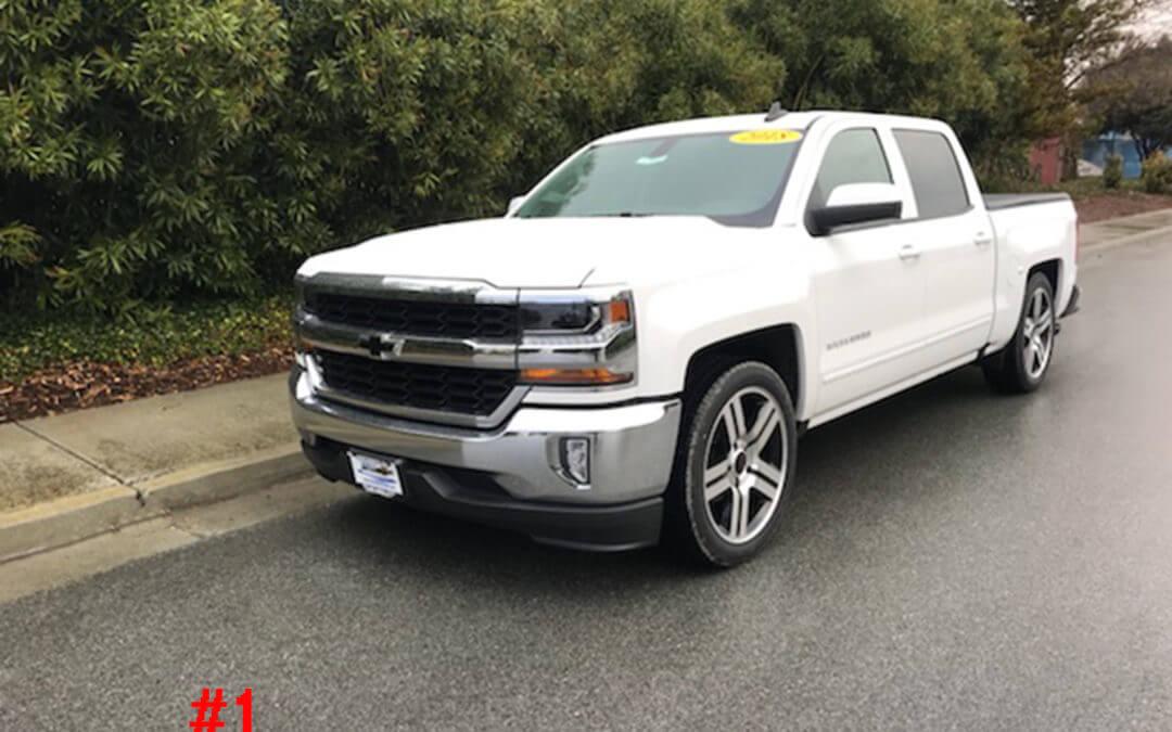 2018 CHEVY 1500 CREW CAB #T81841