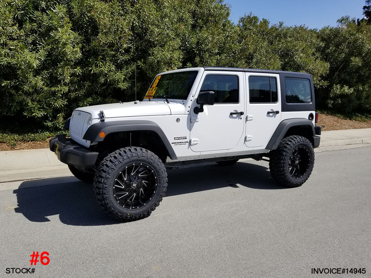 2016 Jeep Truck >> 2016 Jeep Wrangler 4dr 0003 Truck And Suv Parts Warehouse