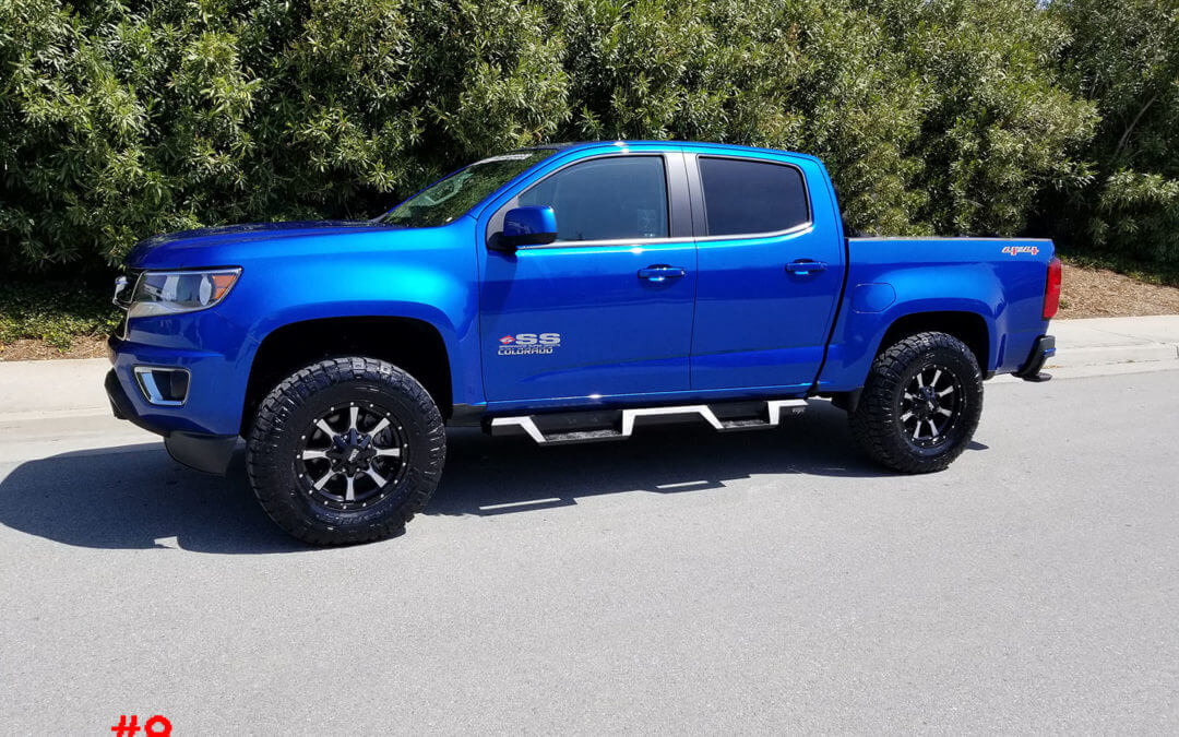 2018 CHEVY COLORADO CREW CAB #20459