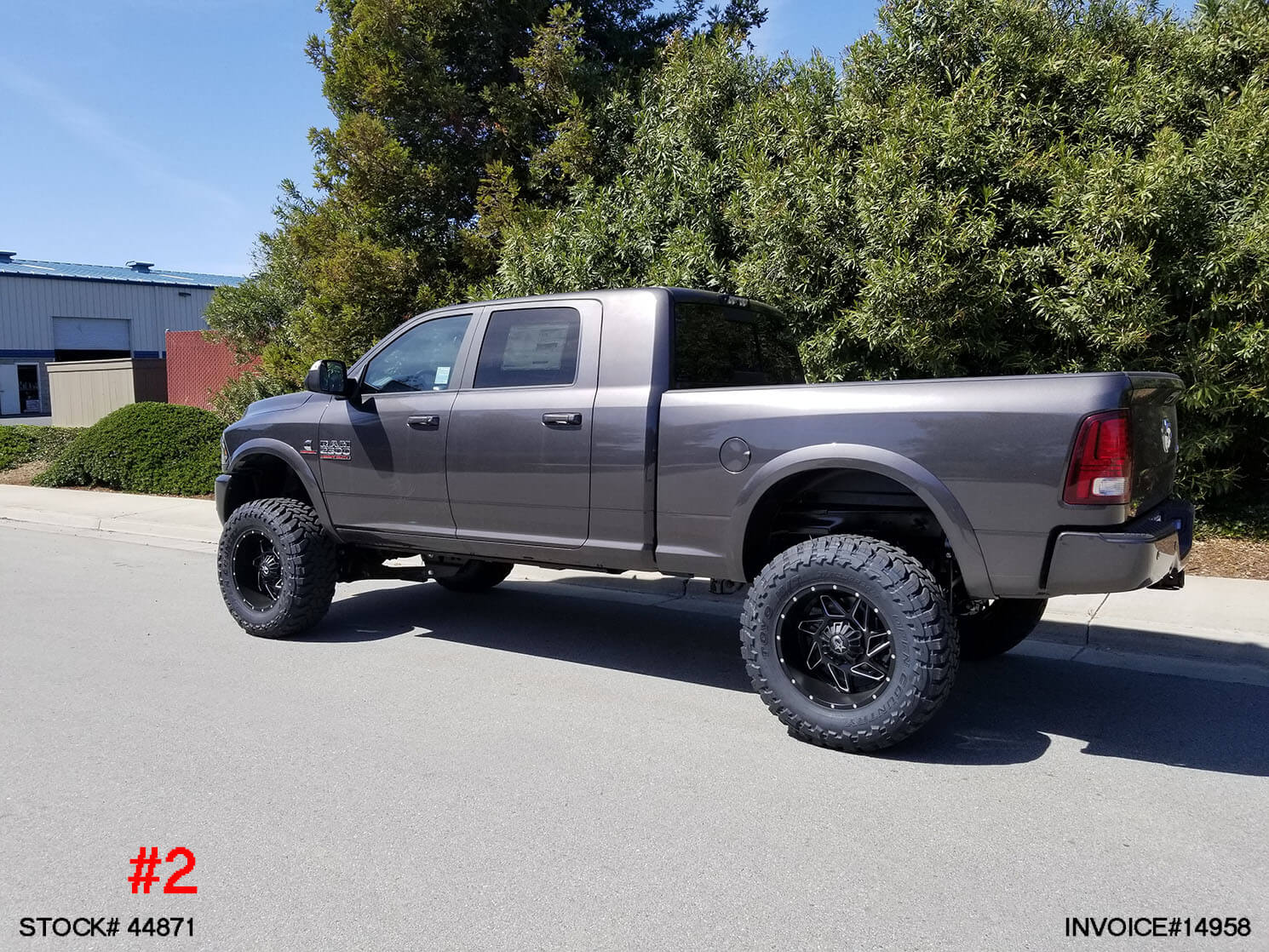 Sold 2018 Dodge Ram 2500 Mega Cab 44871 Truck And Suv Parts Warehouse