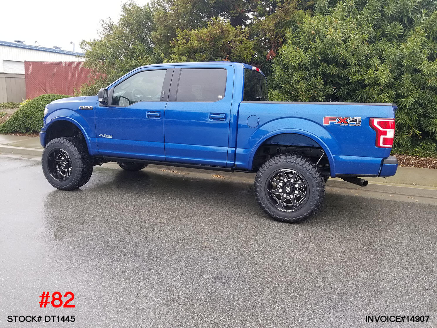 DT1445-2018 FORD F150 CREW CAB