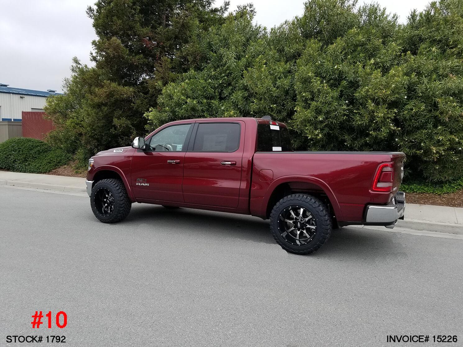 1792- 2019 RAM 1500 CREW CAB
