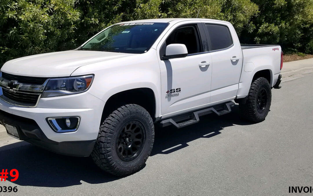 2018 CHEVY COLORADO CREW CAB #20396