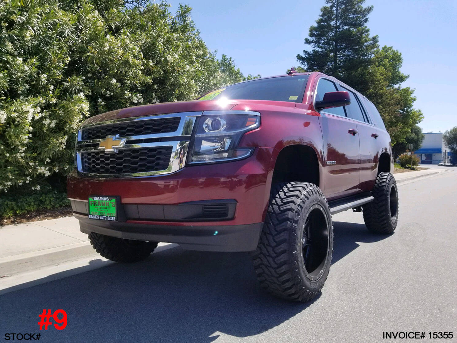 15355-2017 CHEVY TAHOE