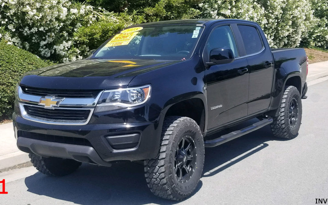 2018 CHEVY COLORADO CREW CAB #15641