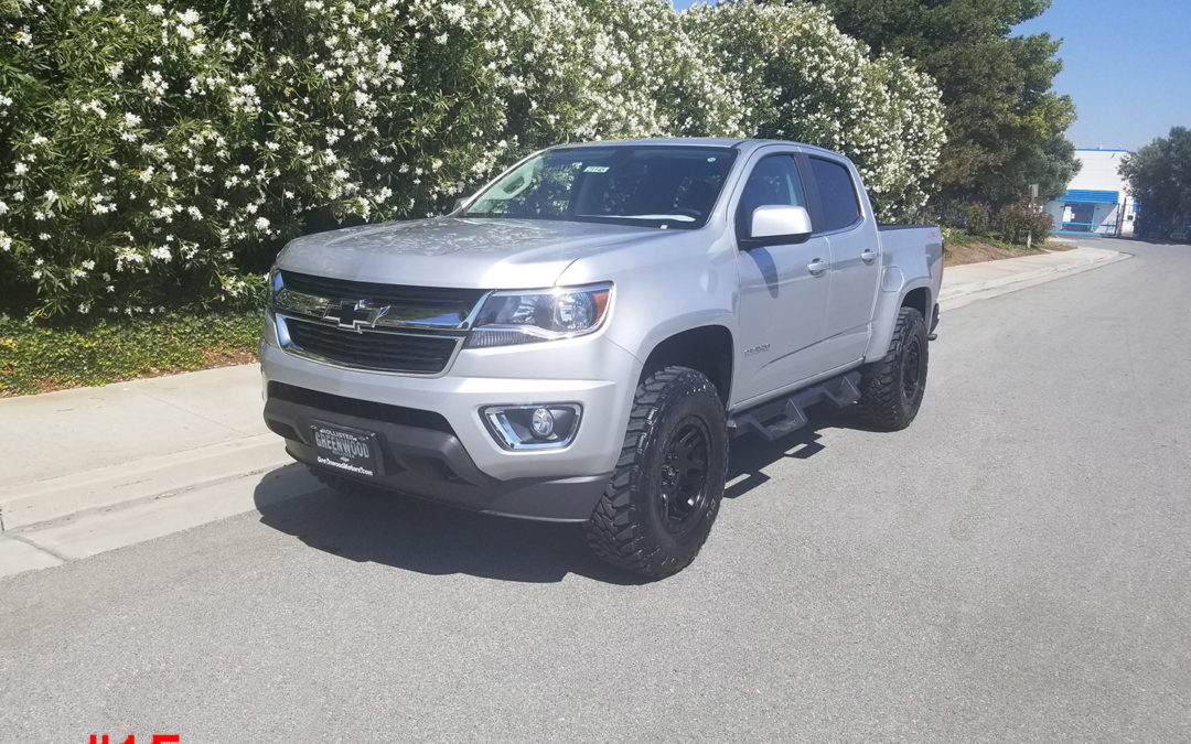 2018 CHEVY COLORADO CREW CAB #21145