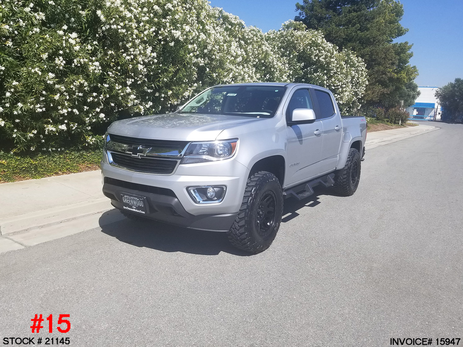 21145-2018 CHEVY COLORADO CREW CAB