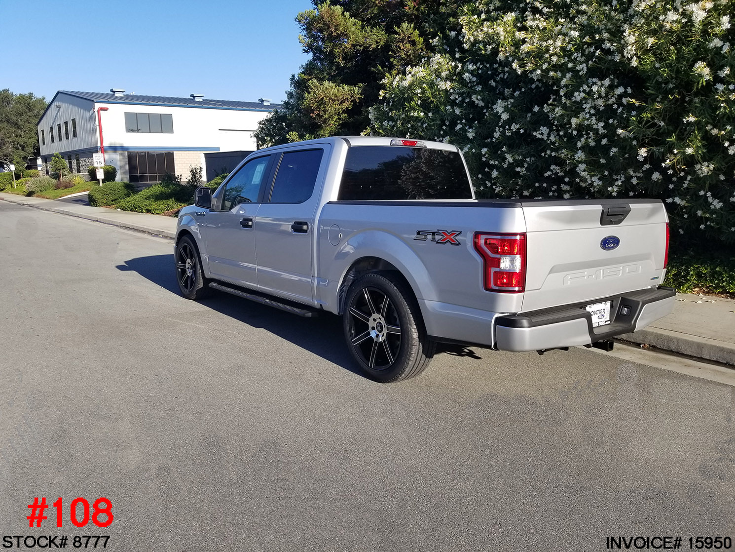 8777-2018 FORD F150 CREW CAB