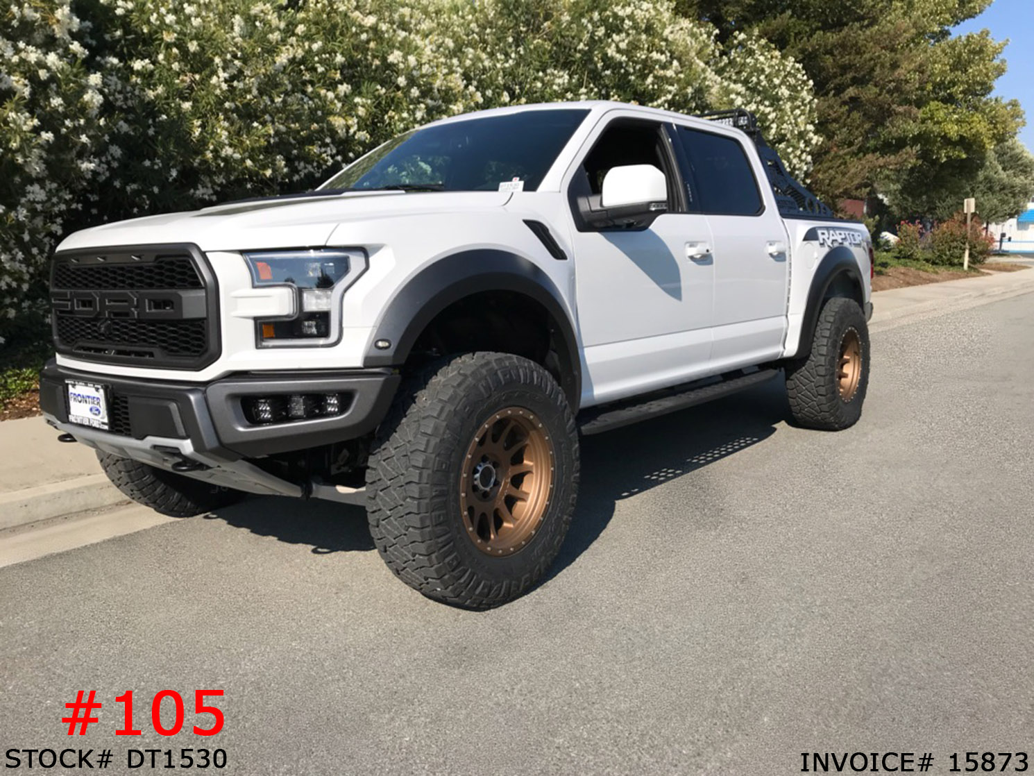 2018 Ford Raptor Dt1530 Truck And Suv Parts Warehouse