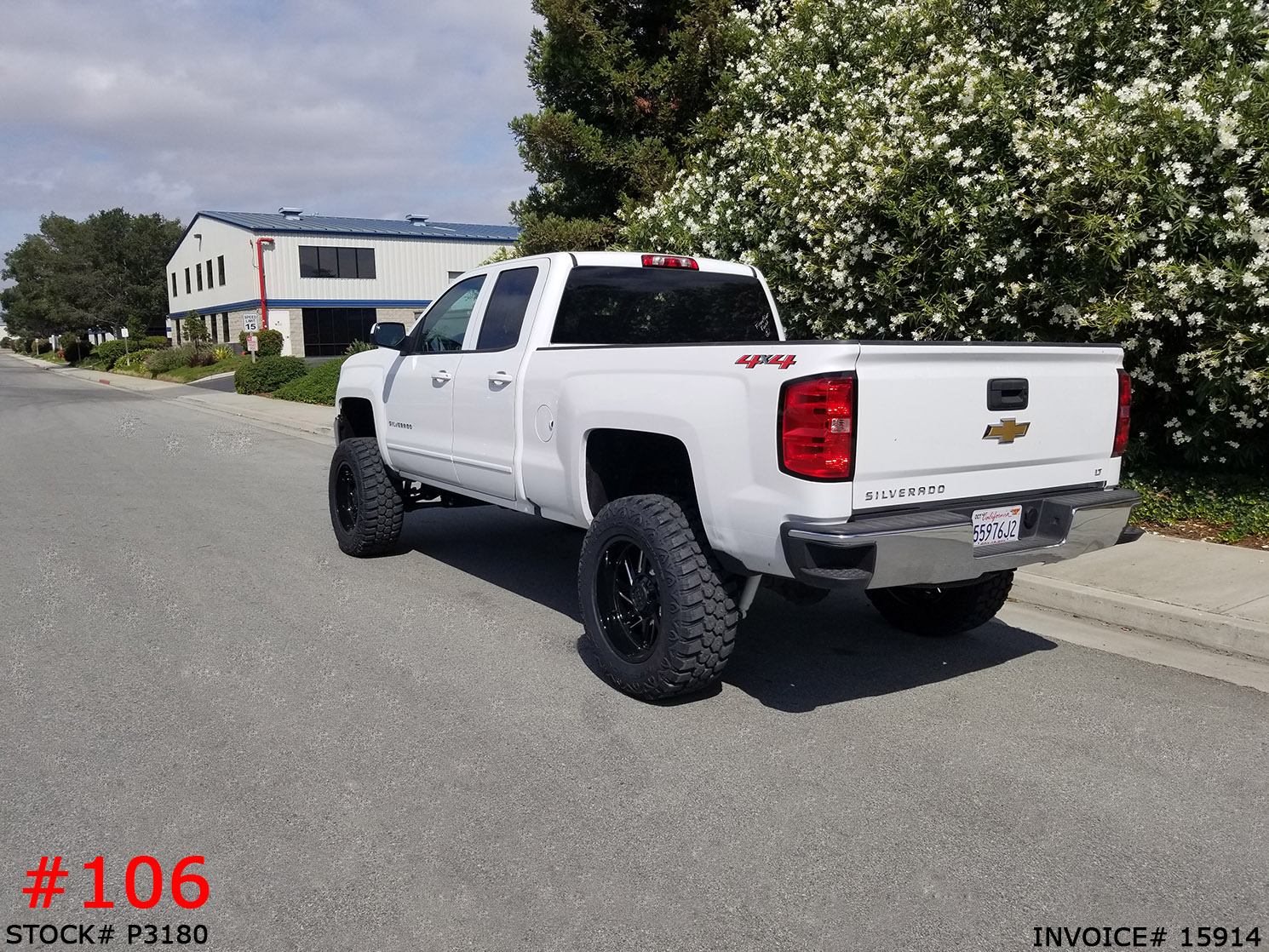 P3180-2018 CHEVY 1500 DOUBLE CAB