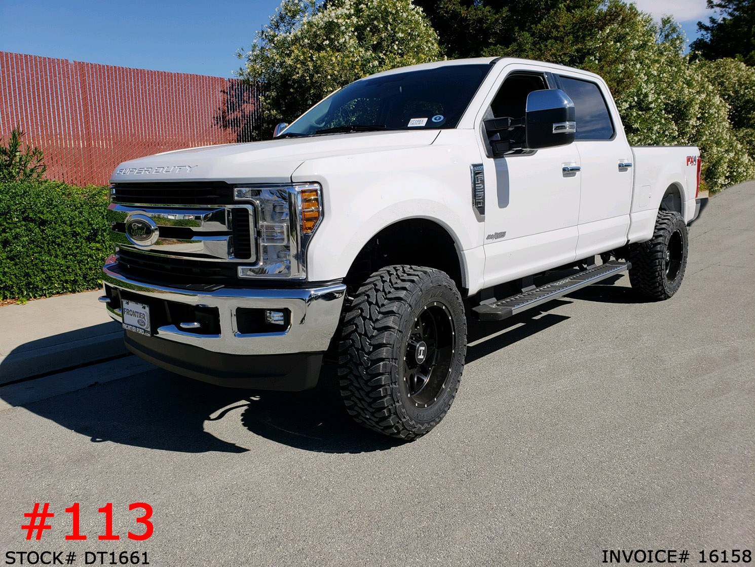 DT1661-2018 FORD F250 CREW CAB