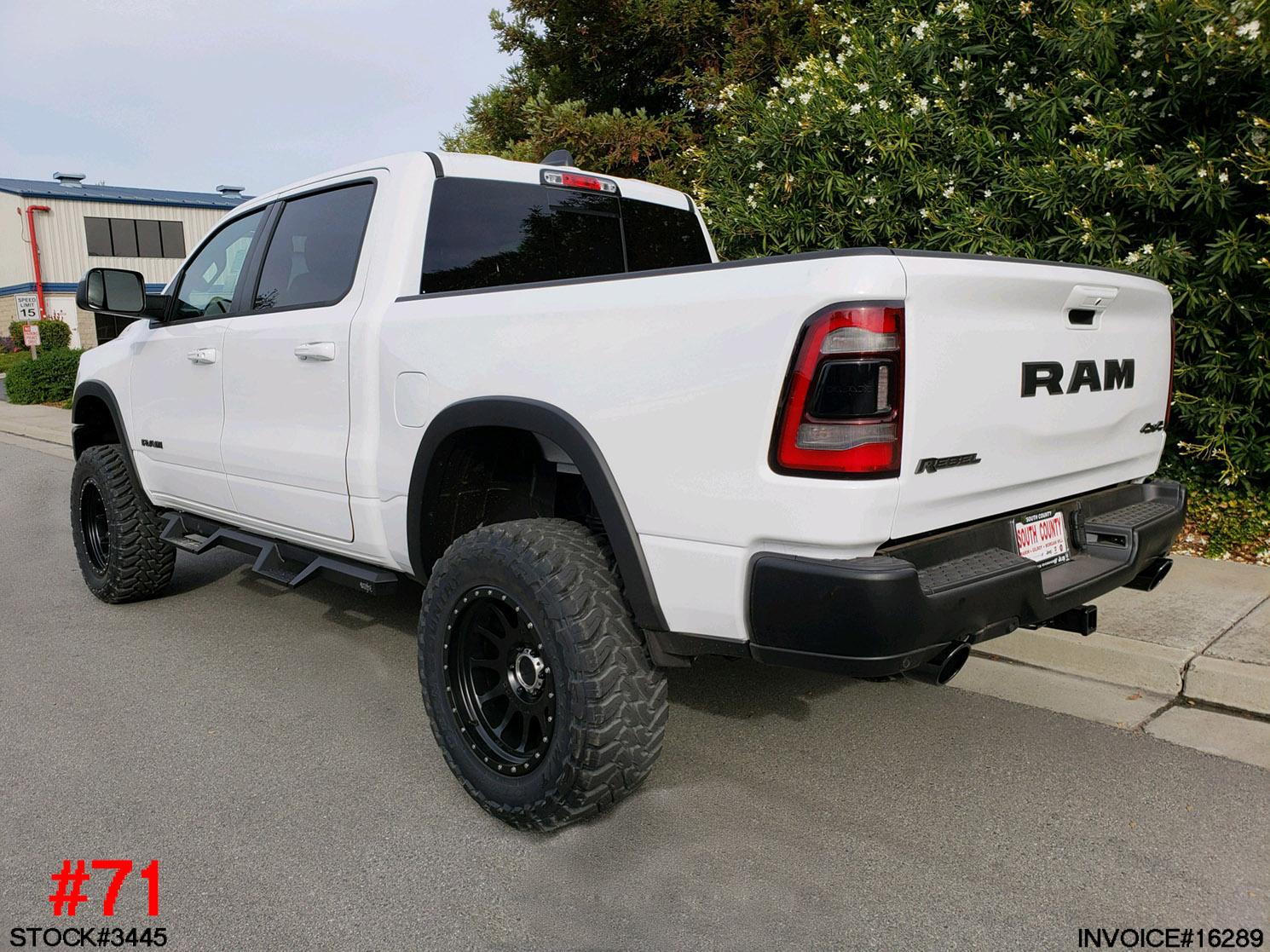 3445-2019 RAM 1500 CREW CAB REBEL