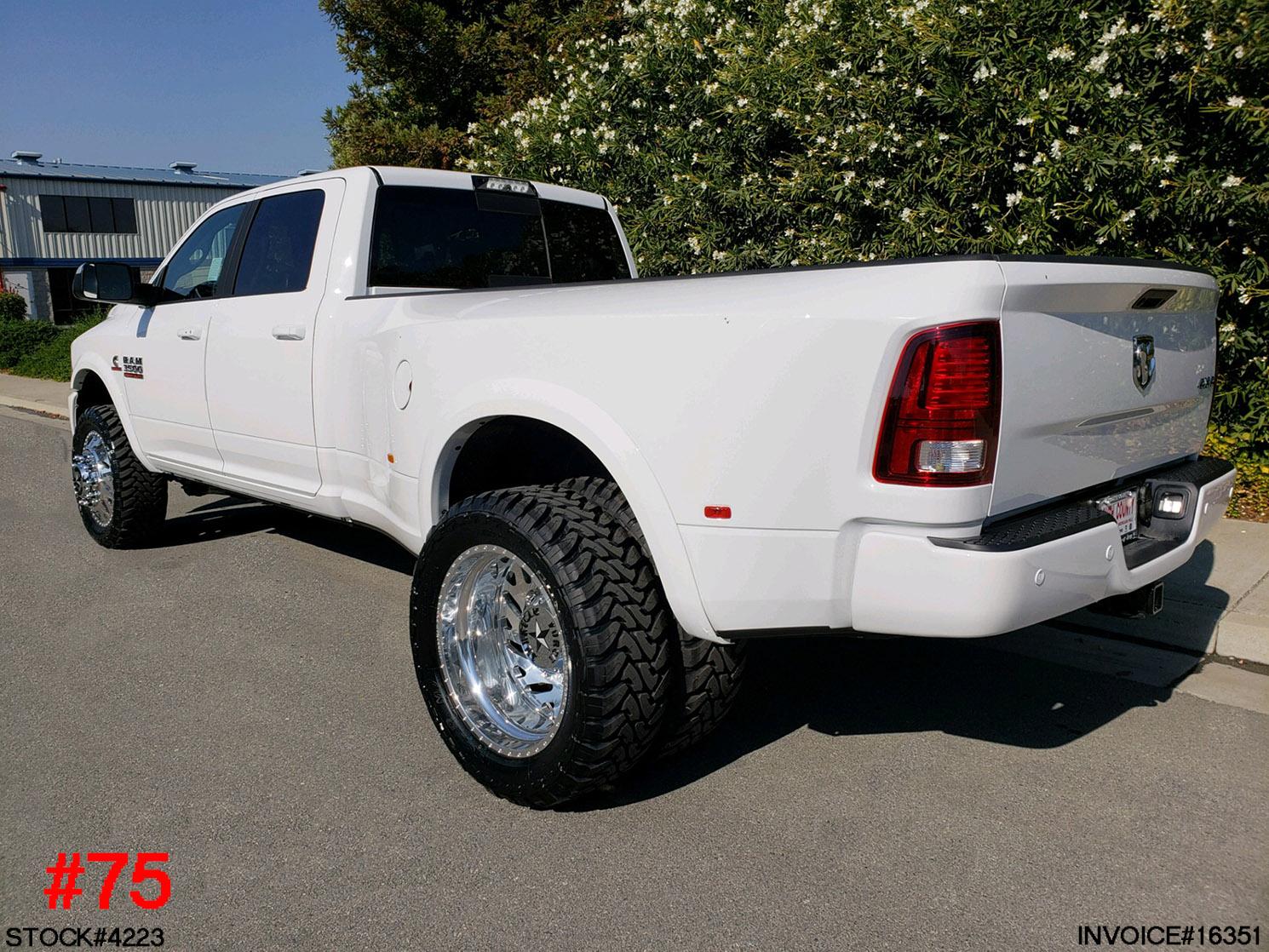 4223-2018 RAM 3500 MEGA CAB DUALLY