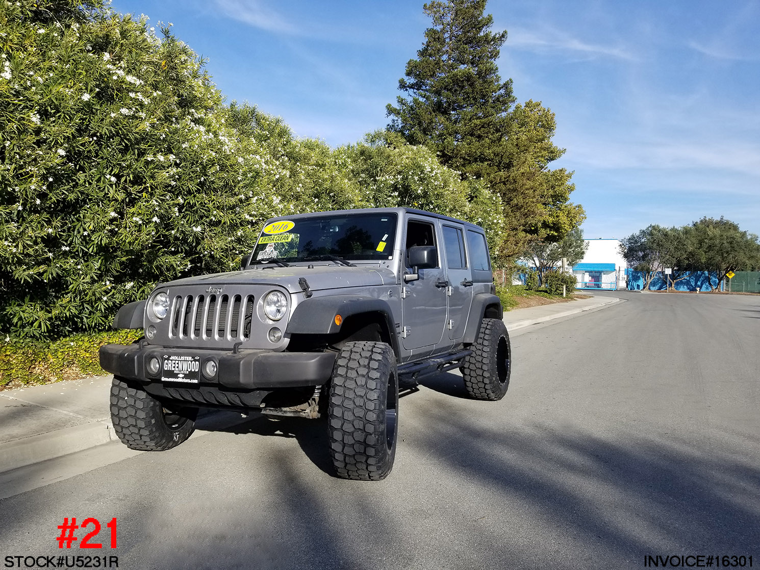 2016 Jeep Truck >> 2016 Jeep Wrangler U5231r Truck And Suv Parts Warehouse