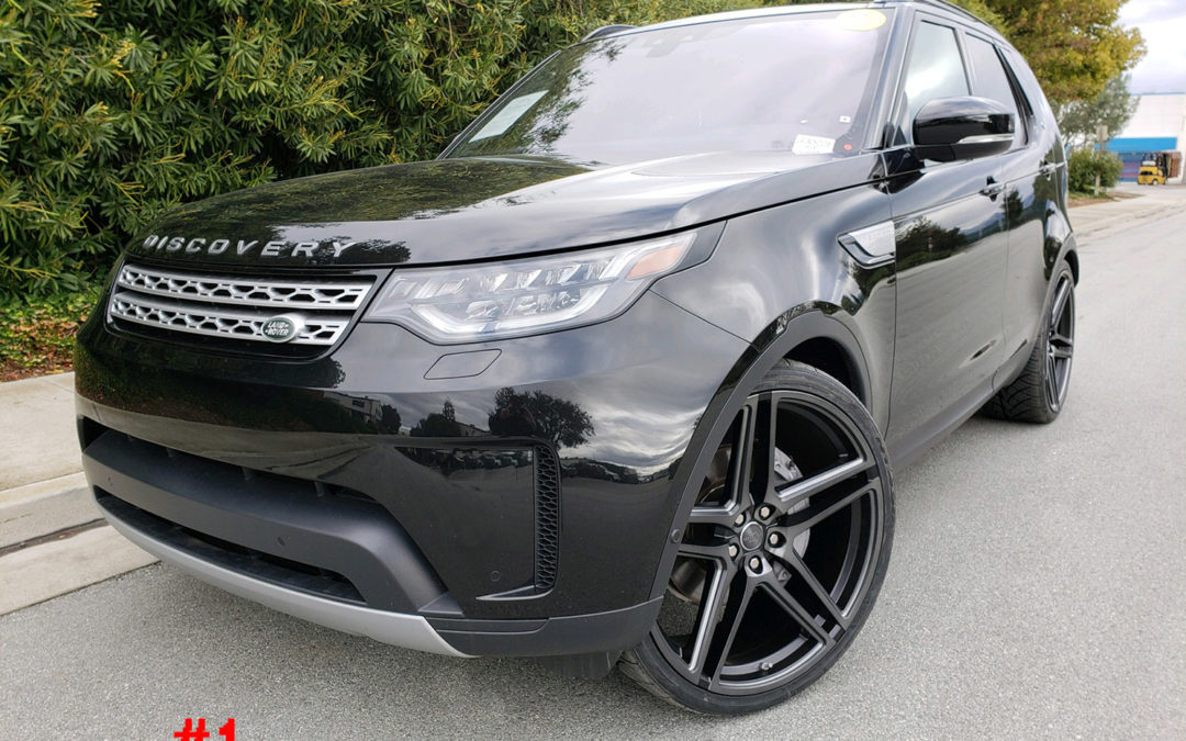 2018 LAND ROVER DISCOVERY HSE #LRJA050108