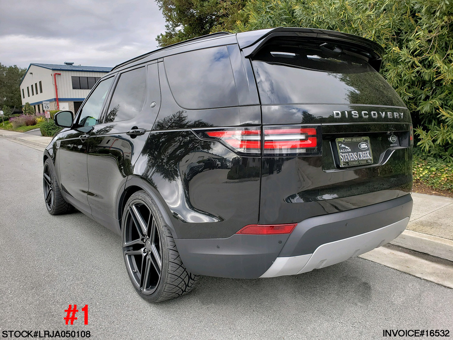 LRJA050108- 2018 LANDROVER DISCOVERY HSE