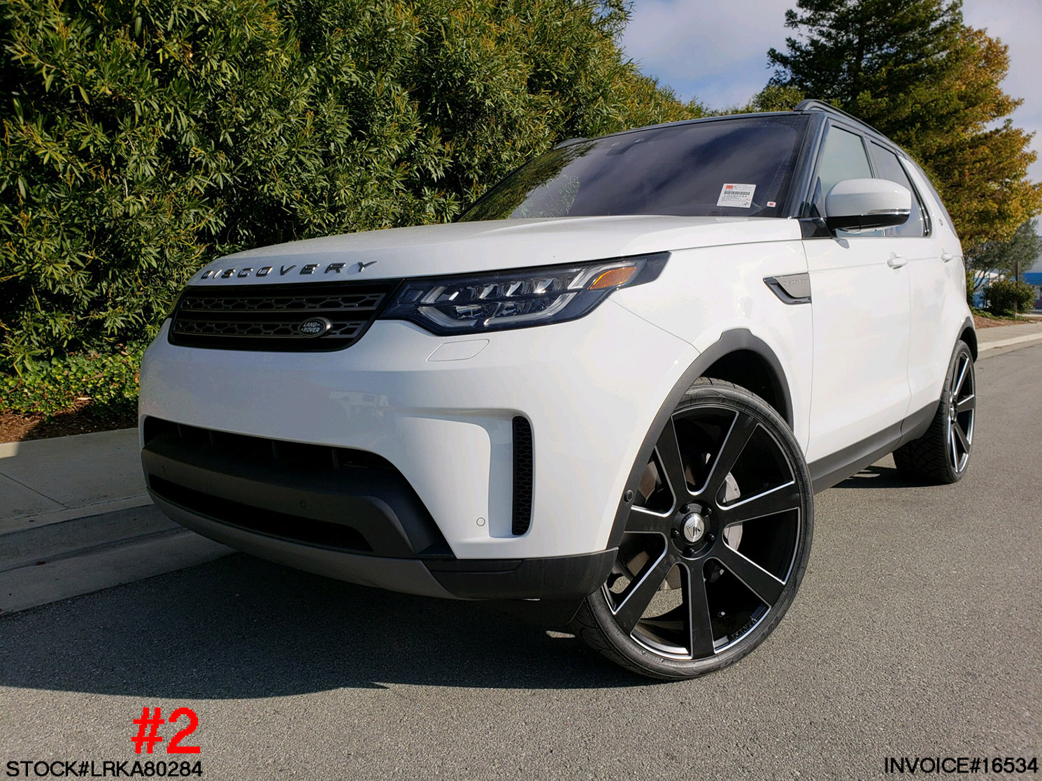LRKA080284- 2019 LAND ROVER DISCOVERY HSE