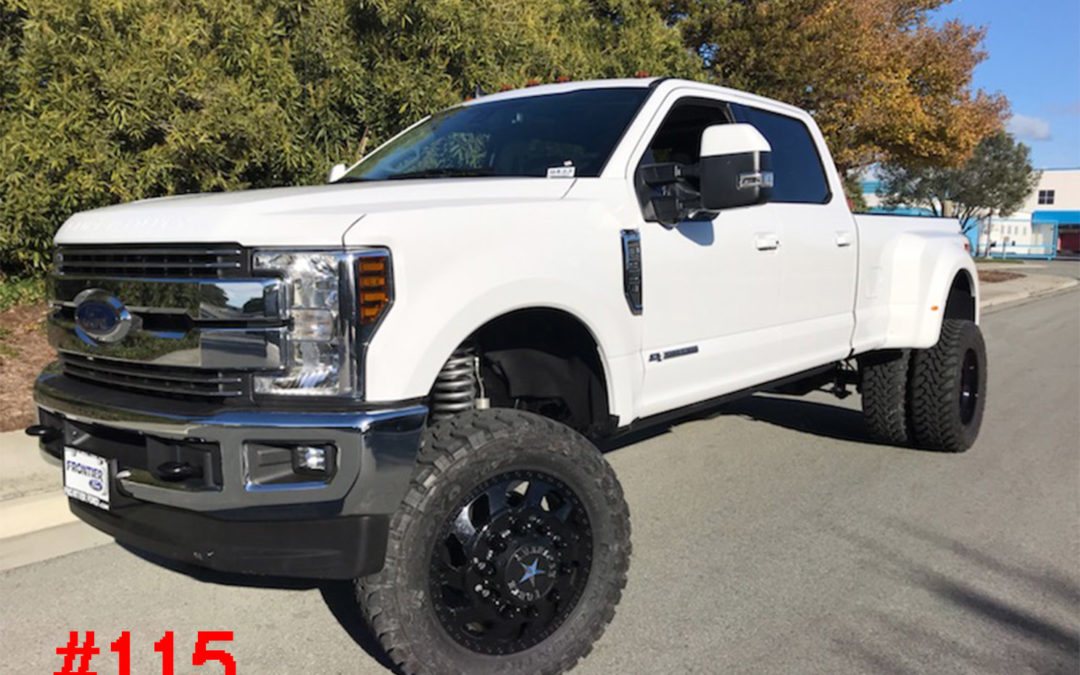 **SOLD** 2019 FORD F350 DUALLY CREW CAB #9433