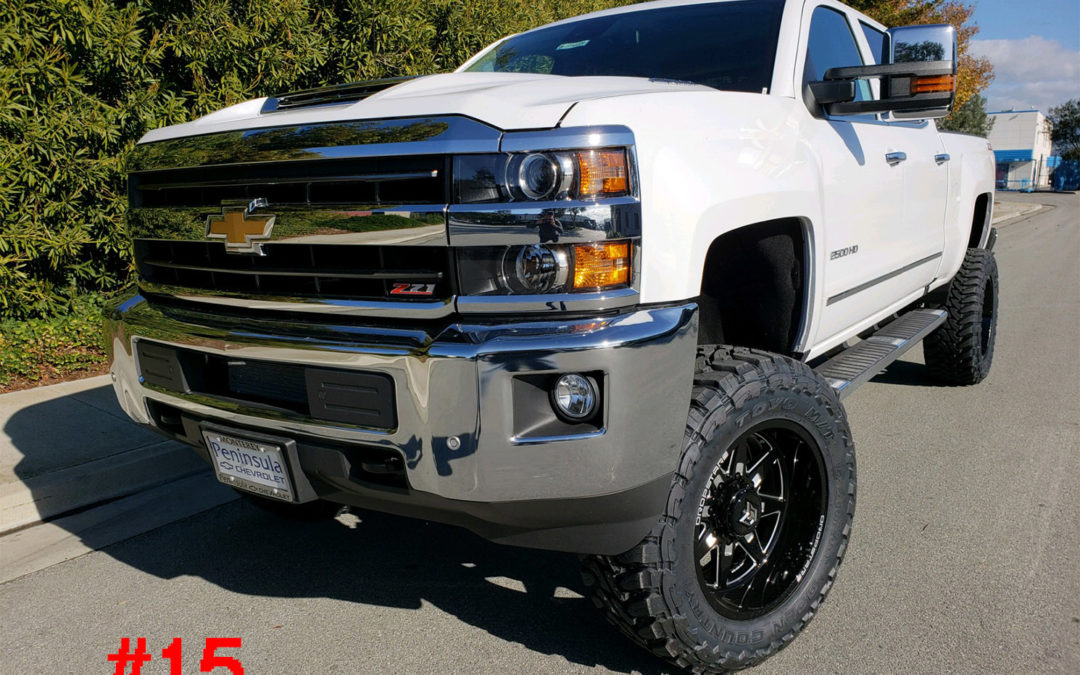 2019 CHEVY 2500HD CREW CAB #G115669
