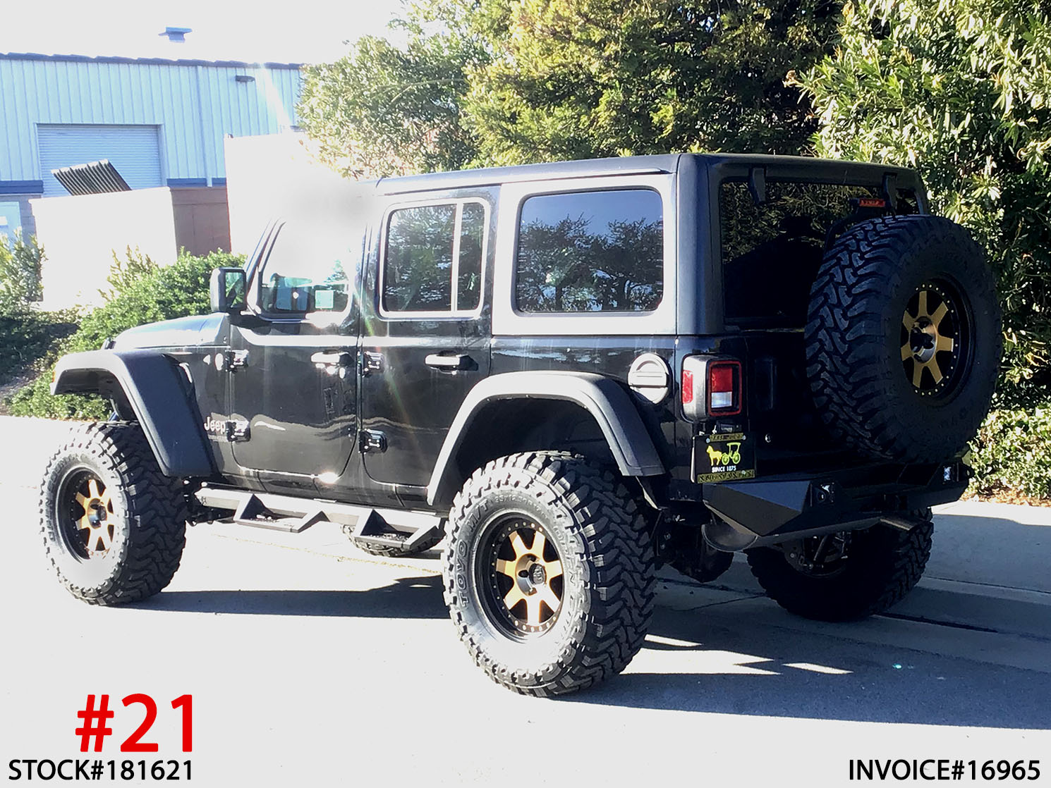2018 JEEP WRANGLER RUBICON #181621