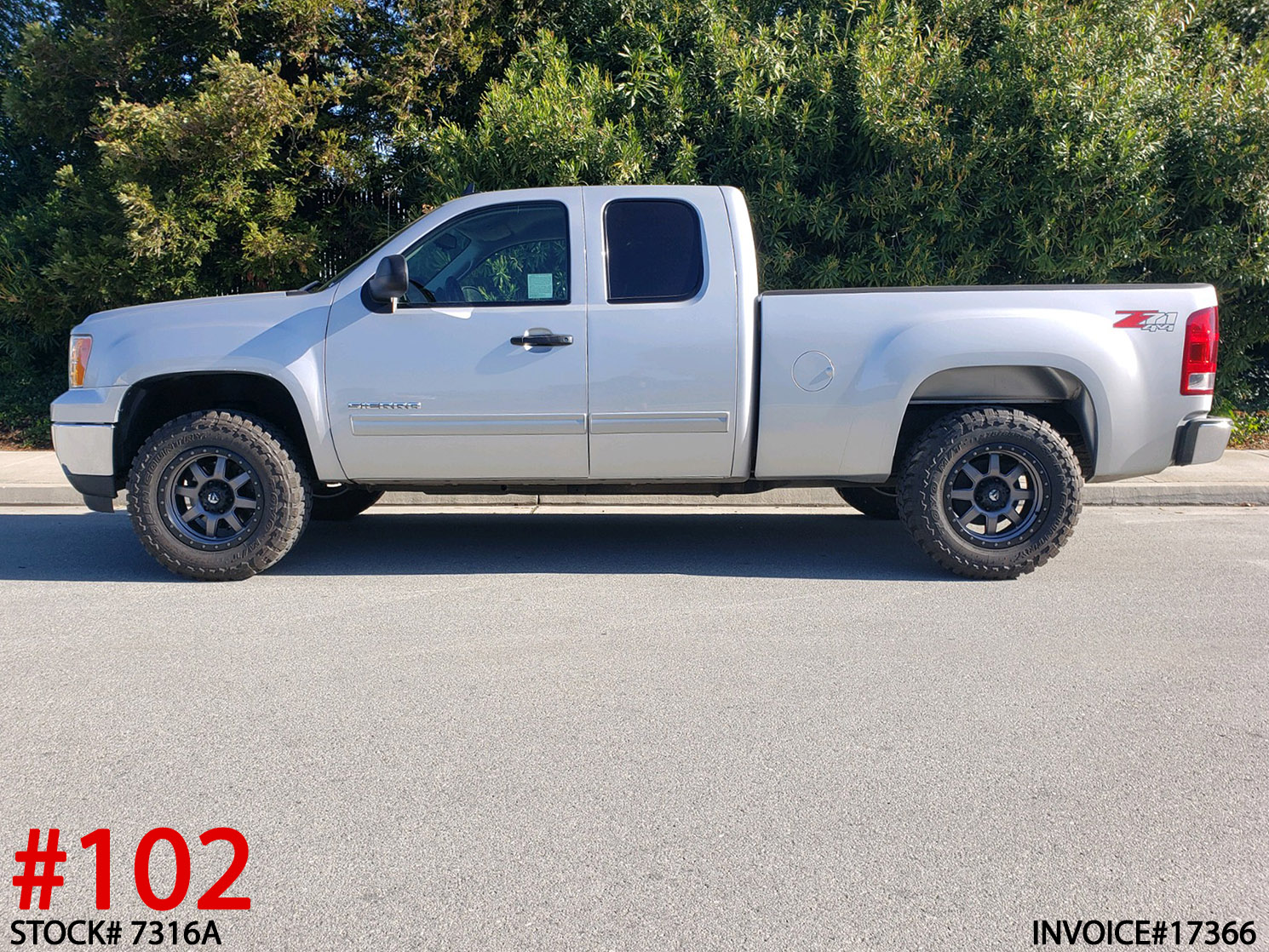 USED 2012 GMC 1500 CREW CAB #7316A