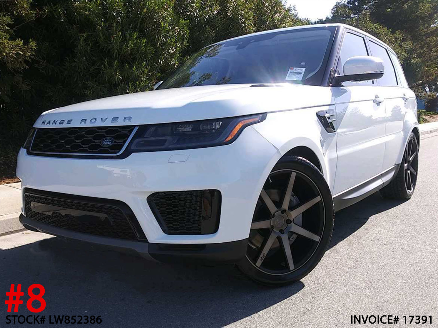 2019 LAND ROVER RANGE ROVER SPORT #LW852386