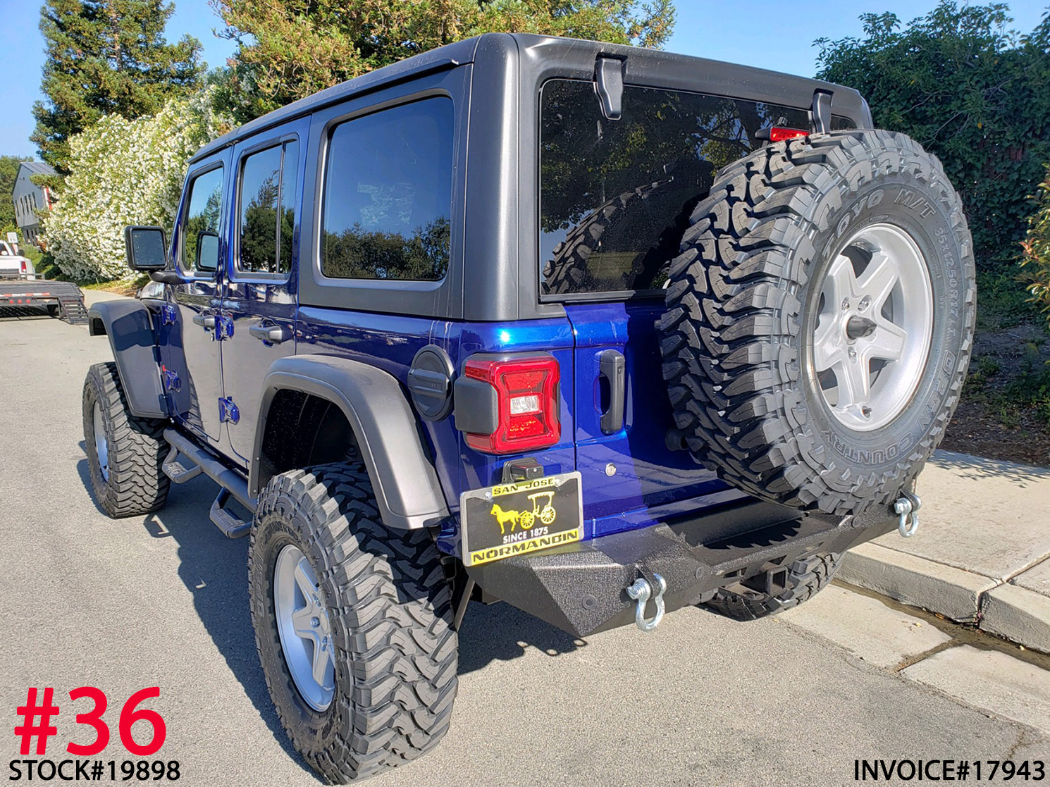 2019 JEEP WRANGLER RUBICON #19898