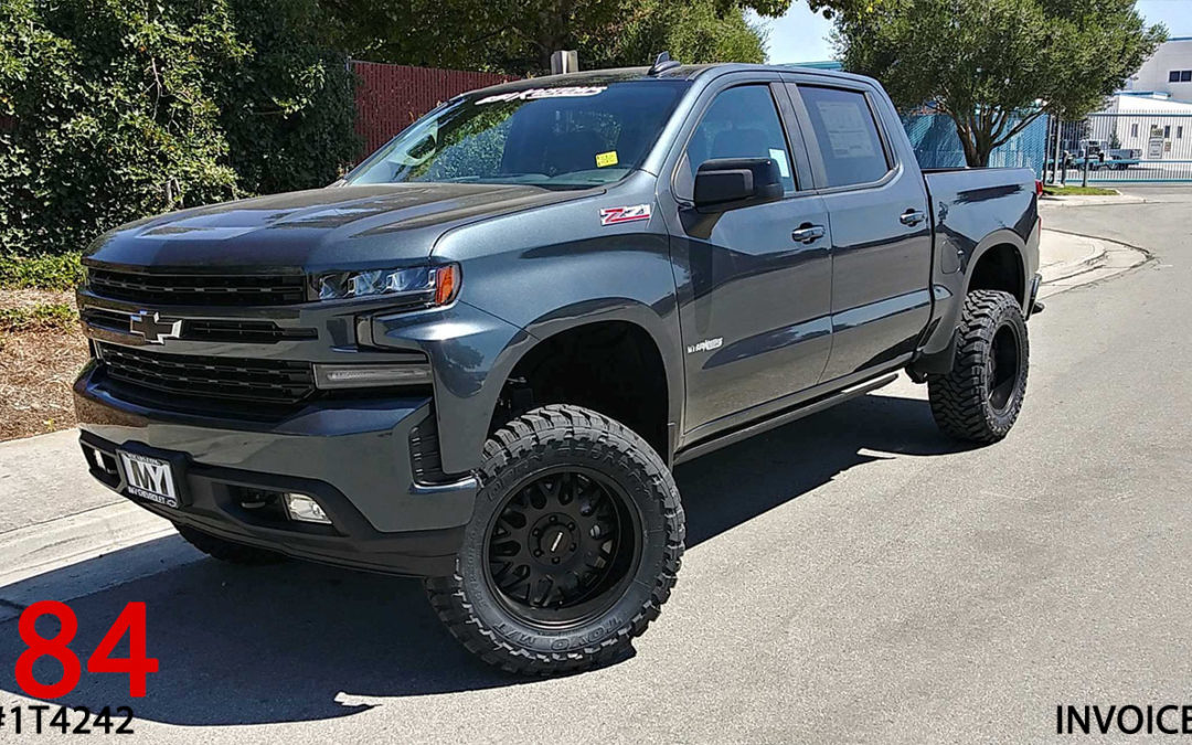 ***SOLD*** 2019 CHEVY 1500 CREW CAB #1T4242