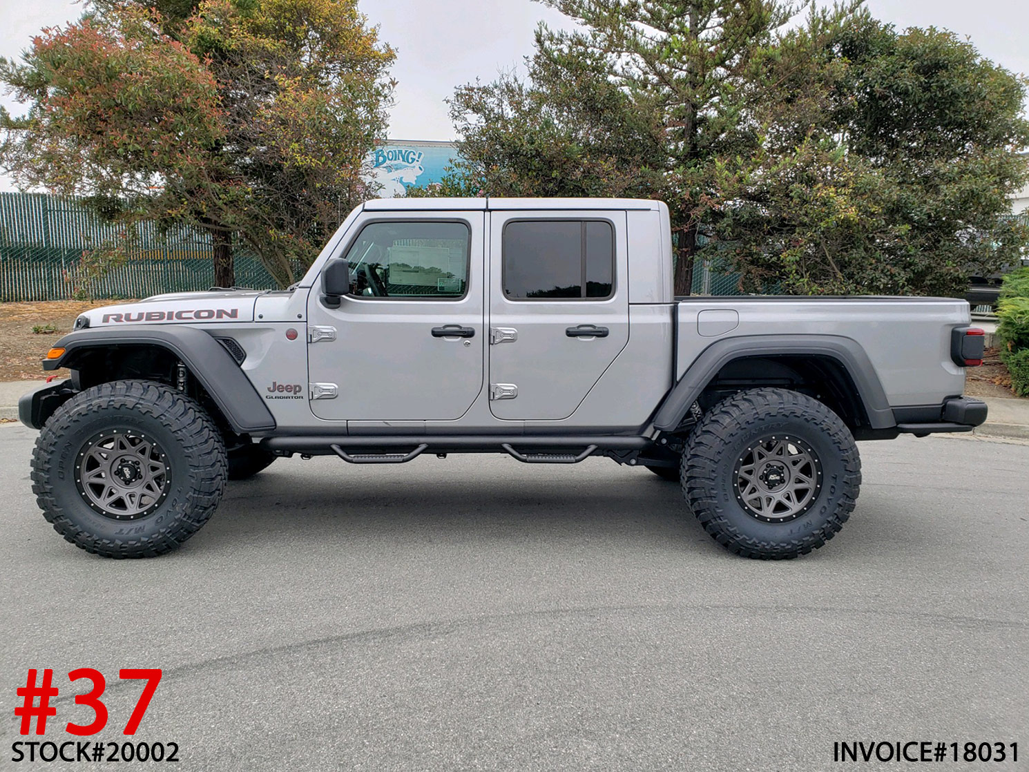 2020 JEEP GLADIATOR RUBICON #20002