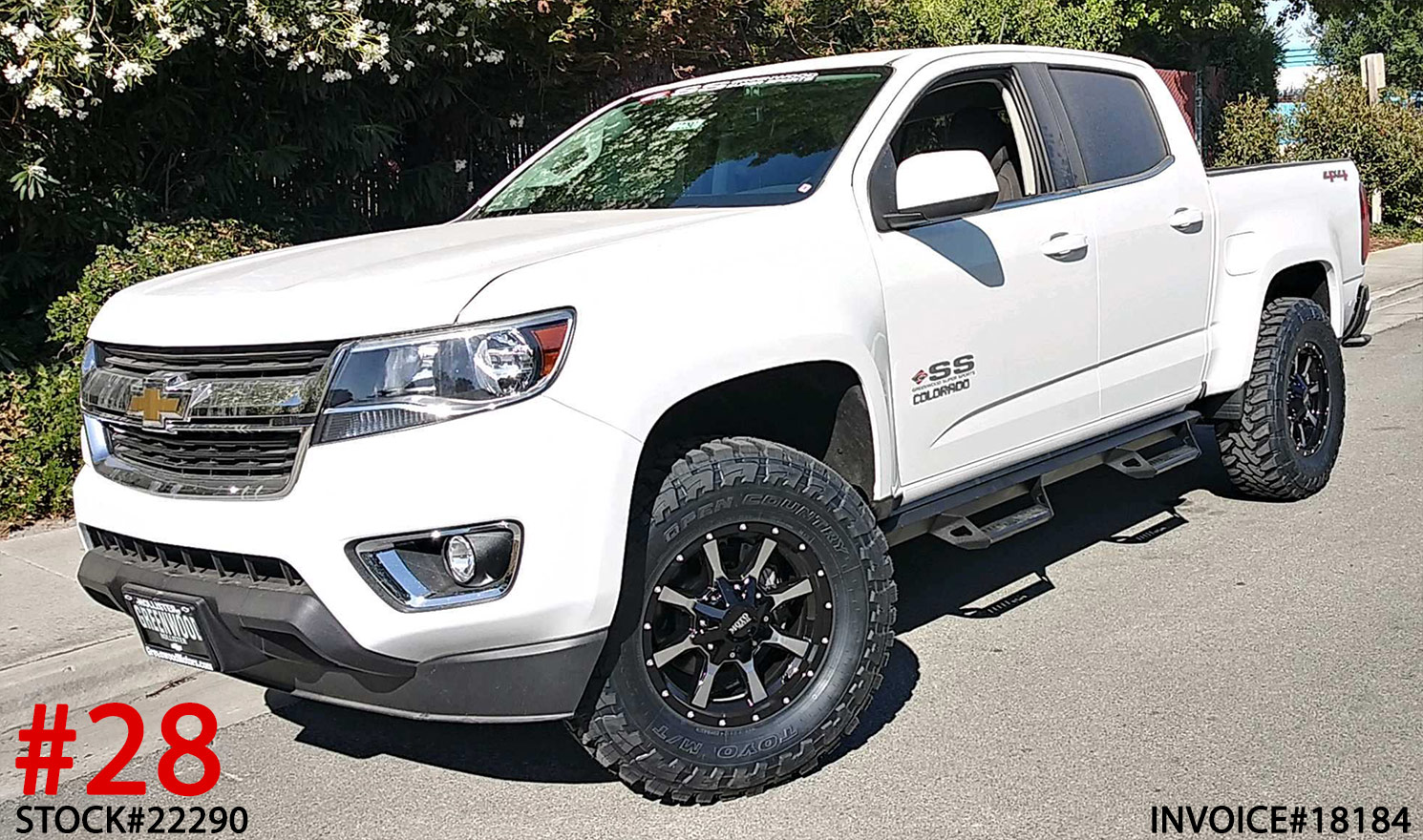2020 CHEVY COLORADO #22290