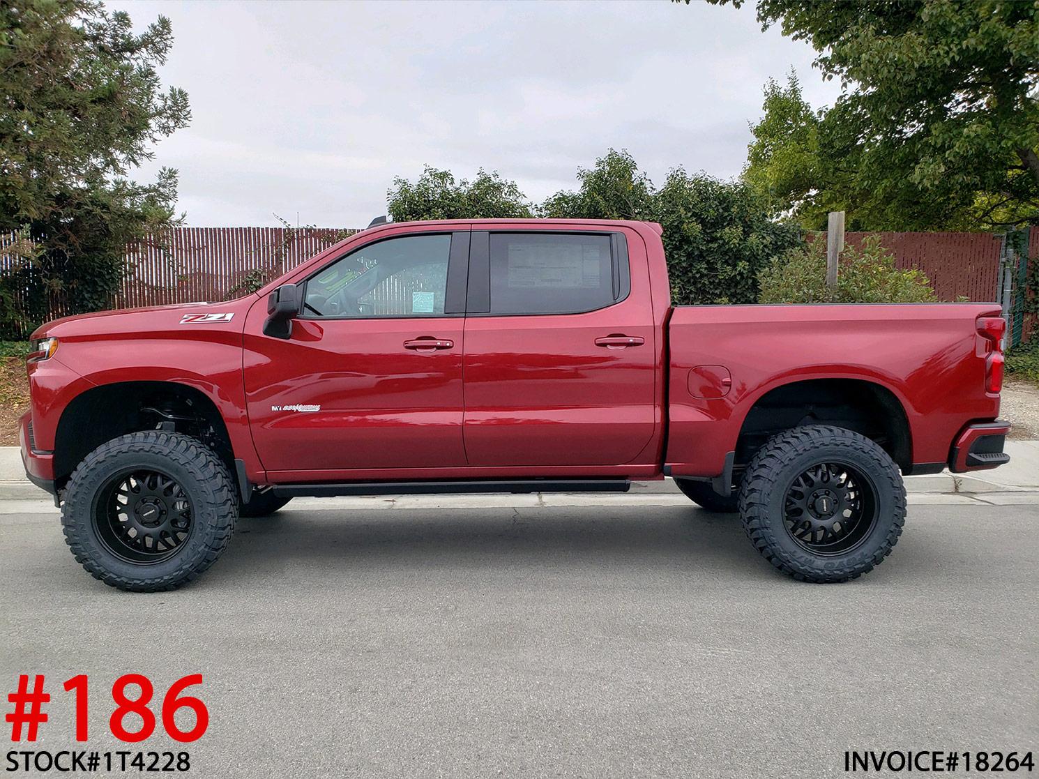 2019 CHEVY 1500 CREW CAB #1T4228