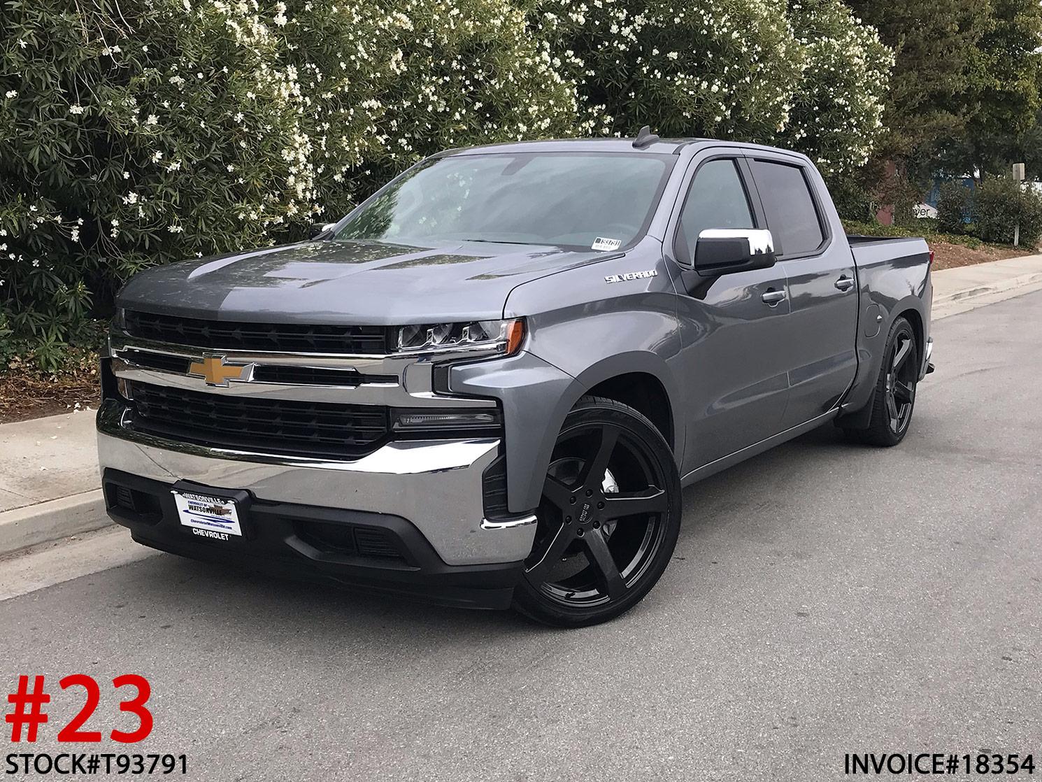 2019 CHEVY 1500 CREW CAB #T93791