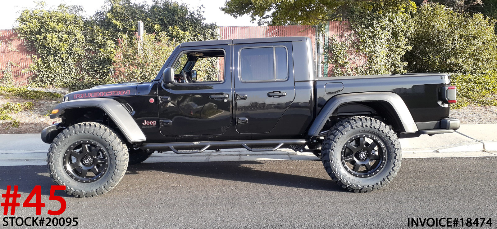 2020 JEEP GLADIATOR RUBICON #20095