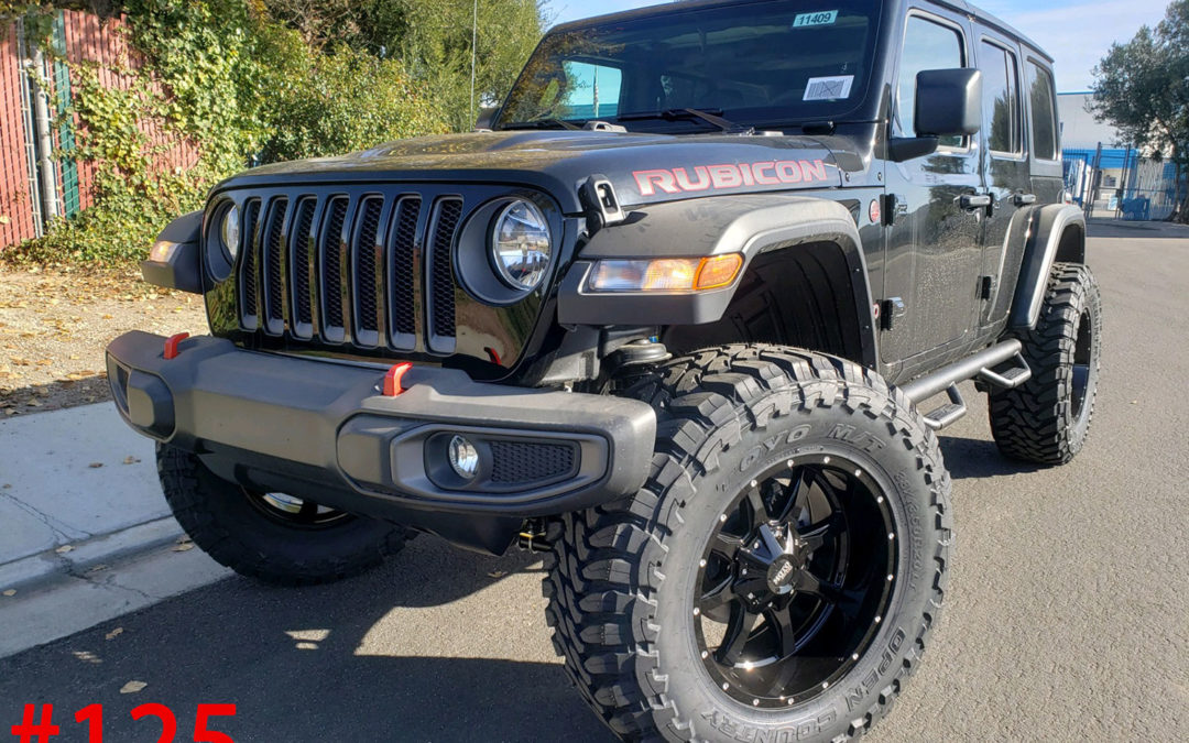 **SOLD**2020 JEEP WRANGLER RUBICON #11409