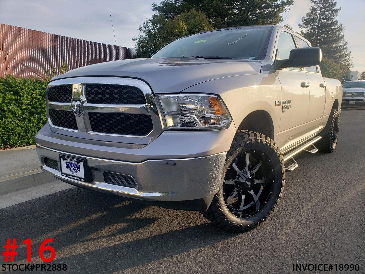 2019 RAM 1500 CLASSIC CREW CAB #PR2888